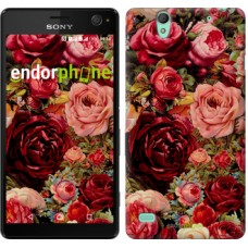 Чехол для Sony Xperia C4 Цветущие розы 2701m-295