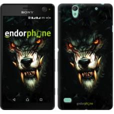 Чехол для Sony Xperia C4 Дьявольский волк 833m-295