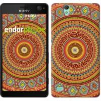 Чехол для Sony Xperia C4 Индийский узор 2860m-295