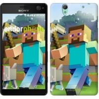 Чехол для Sony Xperia C4 Minecraft 4 2944m-295