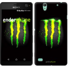 Чехол для Sony Xperia C4 Monster energy 821m-295