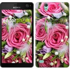 Чехол для Sony Xperia C4 Нежность 2916m-295