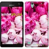 Чехол для Sony Xperia C4 Розовые пионы 2747m-295