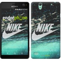 Чехол для Sony Xperia C4 Water Nike 2720m-295