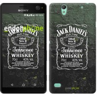 Чехол для Sony Xperia C4 Whiskey Jack Daniels 822m-295