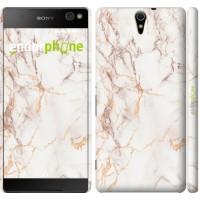 Чехол для Sony Xperia C5 Ultra Dual E5533 Белый мрамор 3847m-506