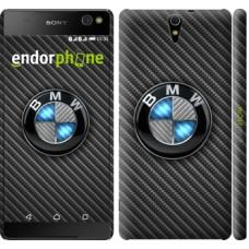 Чехол для Sony Xperia C5 Ultra Dual E5533 BMW. Logo v3 3109m-506