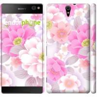 Чехол для Sony Xperia C5 Ultra Dual E5533 Цвет яблони 2225m-506