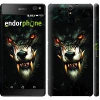 Чехол для Sony Xperia C5 Ultra Dual E5533 Дьявольский волк 833m-506