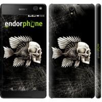Чехол для Sony Xperia C5 Ultra Dual E5533 Рыбо-человек 683m-506