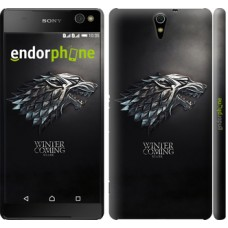 Чехол для Sony Xperia C5 Ultra Dual E5533 Game of thrones. Stark House 1120m-506