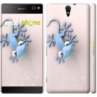 Чехол для Sony Xperia C5 Ultra Dual E5533 Гекончик 1094m-506