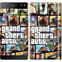 Чехол для Sony Xperia C5 Ultra Dual E5533 GTA 5. Collage 630m-506