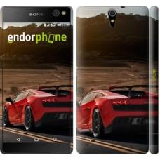 Чехол для Sony Xperia C5 Ultra Dual E5533 Lamborghini v2 2948m-506