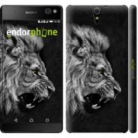 Чехол для Sony Xperia C5 Ultra Dual E5533 Лев 1080m-506