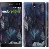 Чехол для Sony Xperia C5 Ultra Dual E5533 Листья v3 3328m-506