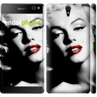 Чехол для Sony Xperia C5 Ultra Dual E5533 Мэрилин Монро 2370m-506