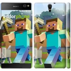 Чехол для Sony Xperia C5 Ultra Dual E5533 Minecraft 4 2944m-506