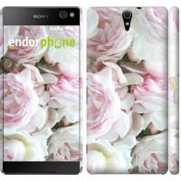 Чехол для Sony Xperia C5 Ultra Dual E5533 Пионы v2 2706m-506