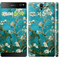 Чехол для Sony Xperia C5 Ultra Dual E5533 Винсент Ван Гог. Сакура 841m-506