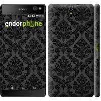 Чехол для Sony Xperia C5 Ultra Dual E5533 Винтажный узор 2269m-506