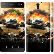 Чехол для Sony Xperia C5 Ultra Dual E5533 World of tanks v1 834m-506