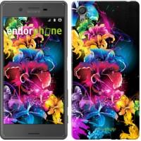 Чехол для Sony Xperia X Абстрактные цветы 511m-446