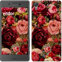 Чехол для Sony Xperia X Цветущие розы 2701m-446
