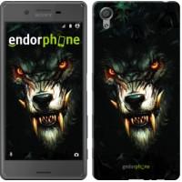 Чехол для Sony Xperia X Дьявольский волк 833m-446