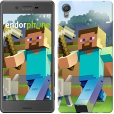 Чехол для Sony Xperia X Minecraft 4 2944m-446