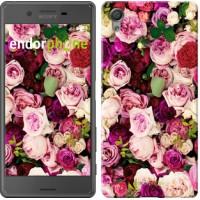 Чехол для Sony Xperia X Розы и пионы 2875m-446