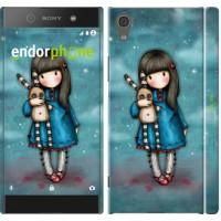 Чехол для Sony Xperia XA1 Девочка с зайчиком 915m-964