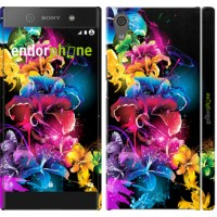Чехол для Sony Xperia XA1 Абстрактные цветы 511m-964