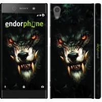 Чехол для Sony Xperia XA1 Дьявольский волк 833m-964