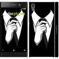 Чехол для Sony Xperia XA1 Галстук 2975m-964