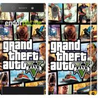 Чехол для Sony Xperia XA1 GTA 5. Collage 630m-964