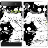 Чехол для Sony Xperia XA1 Коты v2 3565m-964