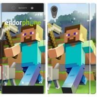 Чехол для Sony Xperia XA1 Minecraft 4 2944m-964