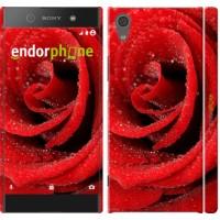 Чехол для Sony Xperia XA1 Красная роза 529m-964