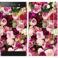 Чехол для Sony Xperia XA1 Розы и пионы 2875m-964
