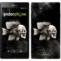 Чехол для Sony Xperia Z C6602 Рыбо-человек 683m-40