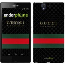 Чехол для Sony Xperia Z C6602 Gucci 1 451m-40