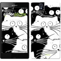 Чехол для Sony Xperia Z C6602 Коты v2 3565m-40