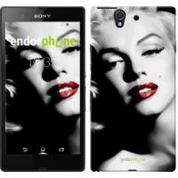 Чехол для Sony Xperia Z C6602 Мэрилин Монро 2370m-40