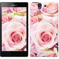 Чехол для Sony Xperia Z C6602 Розы 525m-40