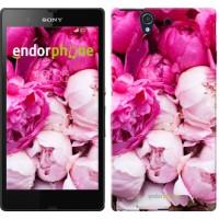 Чехол для Sony Xperia Z C6602 Розовые пионы 2747m-40
