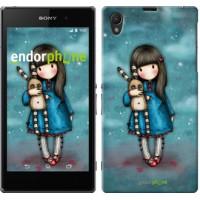 Чехол на Sony Xperia Z1 C6902 Девочка с зайчиком 915c-38