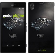 Чехол на Sony Xperia Z1 C6902 Game of thrones. Stark House 1120c-38