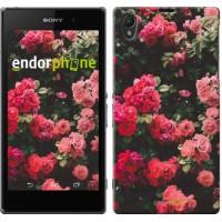 Чехол на Sony Xperia Z1 C6902 Куст с розами 2729c-38