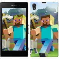 Чехол на Sony Xperia Z1 C6902 Minecraft 4 2944c-38